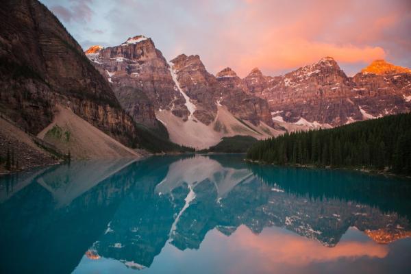 Rocky Mountains - Τα βραχώδη ορεινά σύνορα
